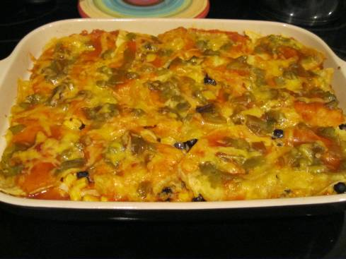 Enchilada Pie 005