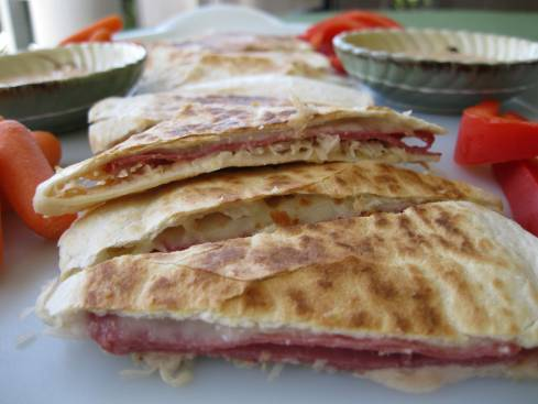 Reuben Quesadillas 006