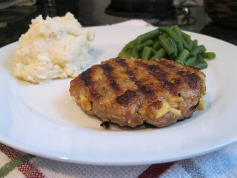 Apple Pork Burgers 008